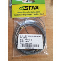 6 Star - 1mm dia x 1,5m Rudder cables
