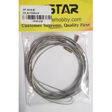 6 Star - 0.8mm dia x 1,5m Rudder cables FP3016-B