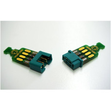 Emcotec - MPX 6 pin Connectors with PCB soldered - A86010