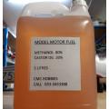 FAI mix - 80% Methanol, 20% castor 0% Nitro  - 5 litre