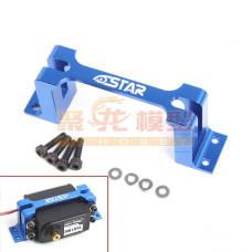 CNC servo tray - Blue