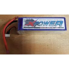 LiPo 5000mah 6S1P - 45C - X Power