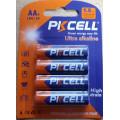 Alkaline - AA batteries ( packs of 4 )