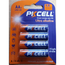Alkaline - AA batteries ( packs of 4 )