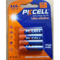 Alkaline - AAA batteries ( packs of 4 )