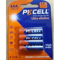 Alkaline - AAA batteries ( packs of 4 )