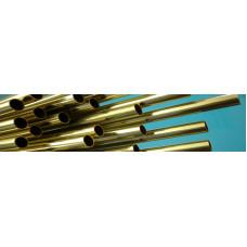 Albion Alloys - Brass tube 4mm- pack of 3 lengths