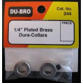 "Dubro # 244 -  Dura-Collars 1/4"" (2)"