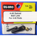 Dubro # 497 - 4-40 ball links for 4-40 rod