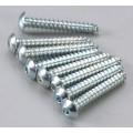Dubro # 528 - Button Head Sheet Metal Screws 4x3/4 (8)