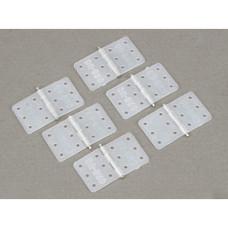 Dubro # 116 - small nylon hinge x6