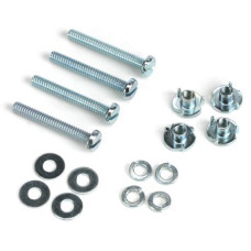 Dubro # 125 - Mounting Bolts & Nuts (4), 2-56 x 1/2