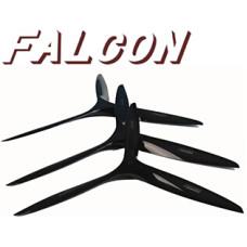 Falcon 28.5x13x3 Blade Carbon Gas props