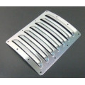 aluminium cooling louvres - large, Silver
