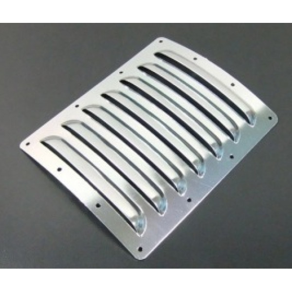 Aluminium cooling louvres small silver - Cmc accessoires catalogus ...