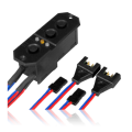 Powerbox - Sensor switch - with MPX in and JR out plugs