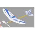Toys - Balsa Hawk Rubber Powered Glider